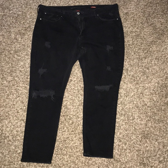 67ff66eed Arizona Jean Company Pants | Arizona Jean Co Black Boyfriend | Poshmark